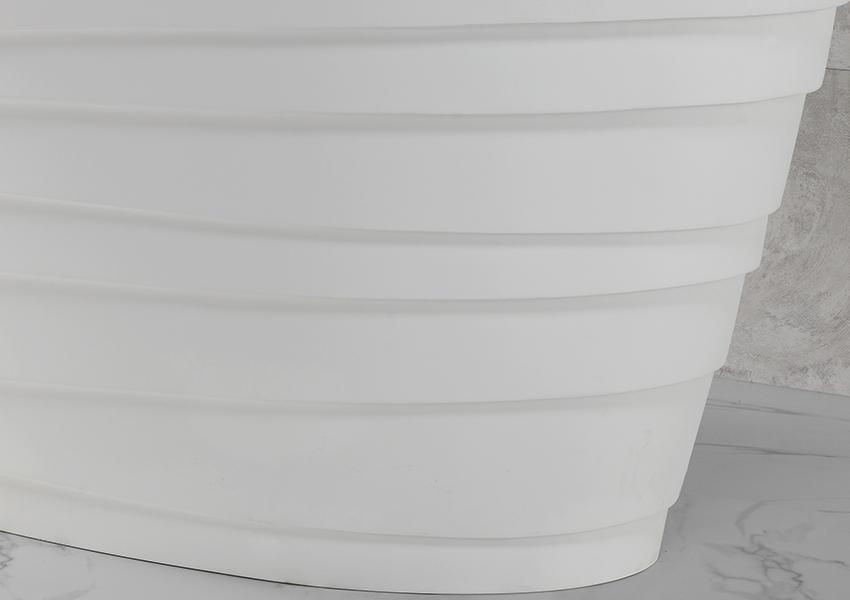 KingKonree finish acrylic clawfoot bathtub custom for family decoration-3