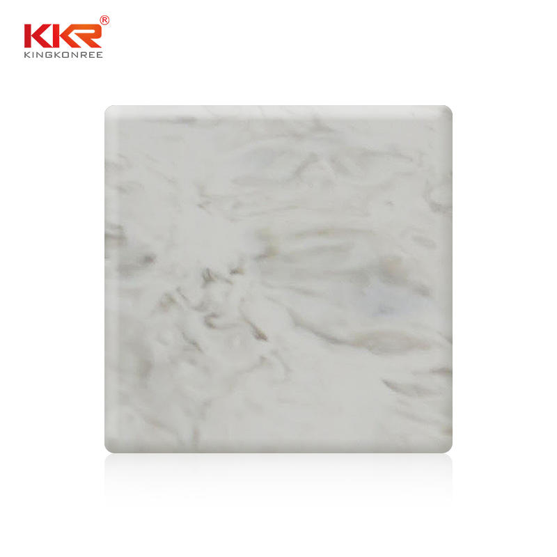 Texture Patterm Artificial Marble Solid Surface Sheets KKR-M8803