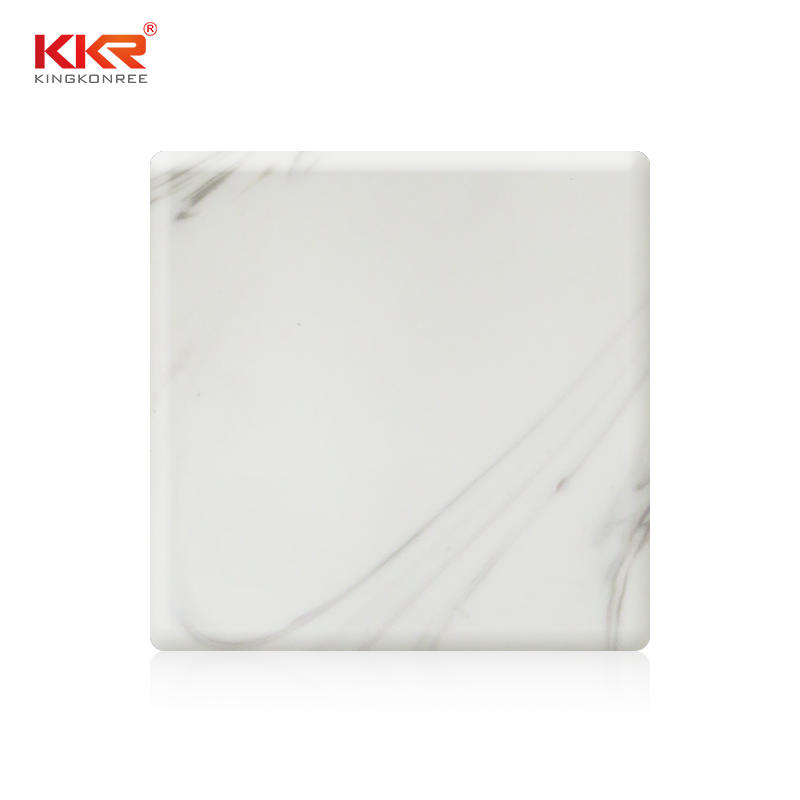 Popular Design Texture Pattern Modified Acrylic Solid Surface Sheets KKR-M8816