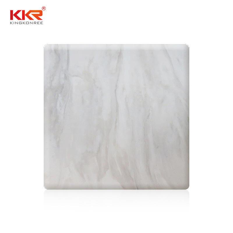 KKR Al Por Mayor Modificó Hojas de Superficie Sólida Acílica Con Patrón de Textura KKR-M8817
