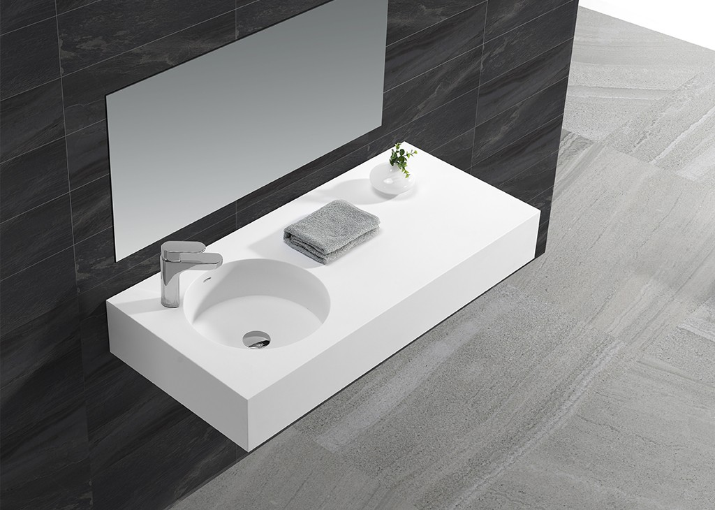 KingKonree stable rectangular wash basin sink for home-1
