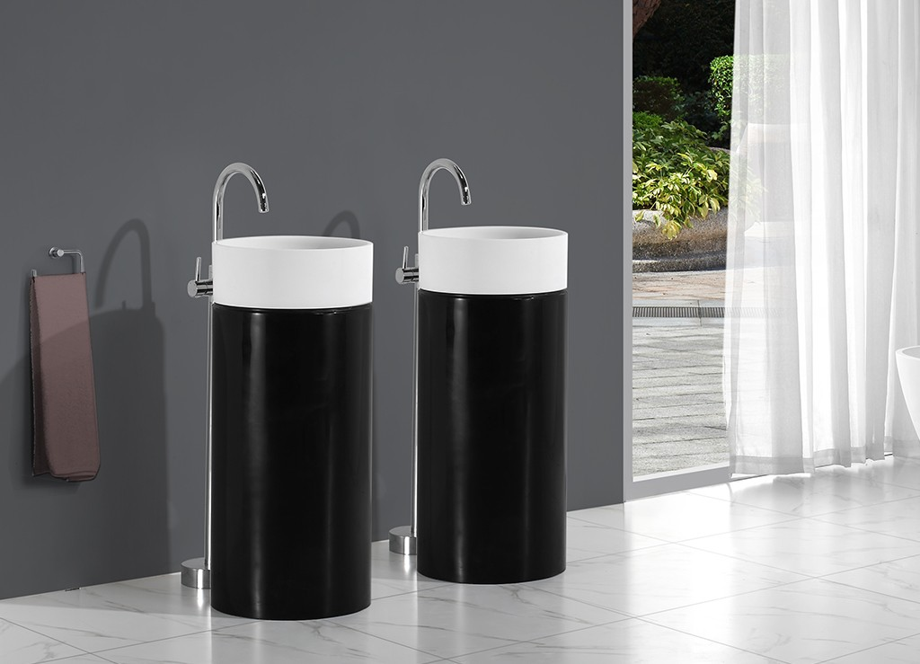 KingKonree bathroom sink stand design for motel-1