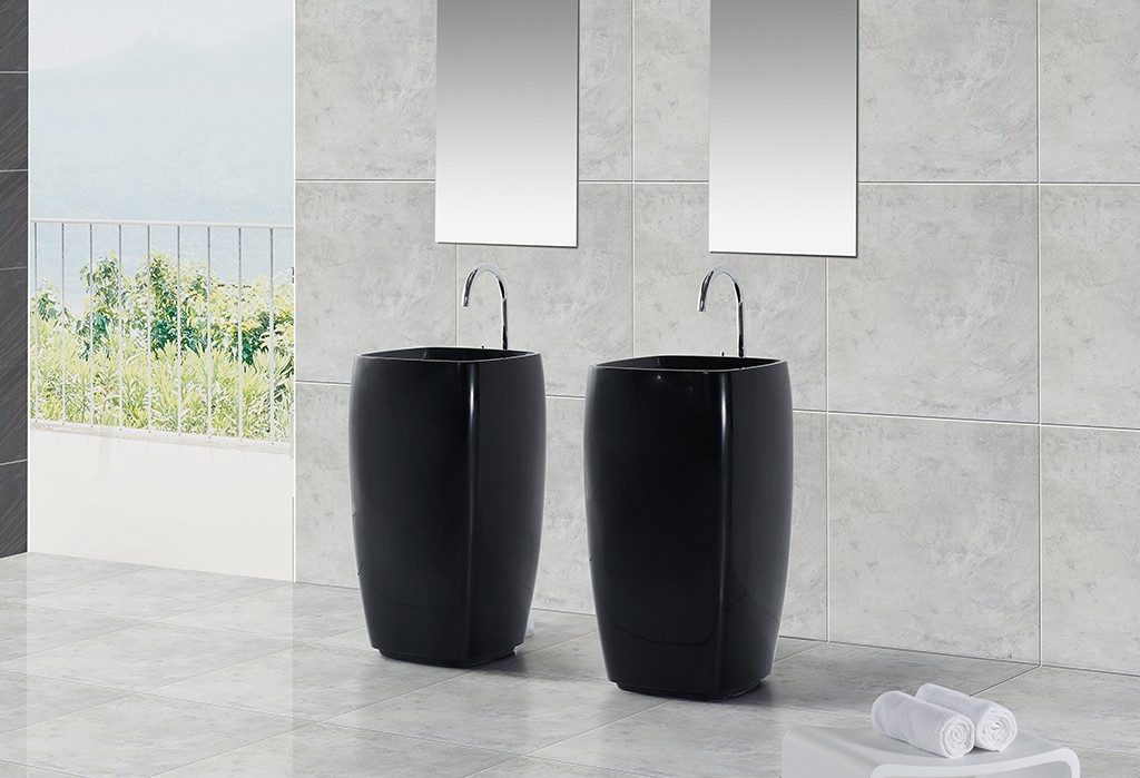 KingKonree artificial freestanding basin manufacturer for motel-1