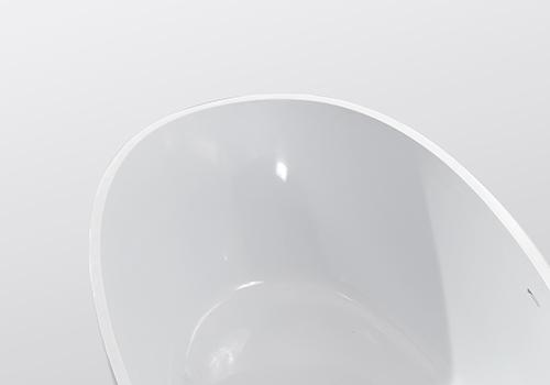 KingKonree resin stone bathtub custom for bathroom-5