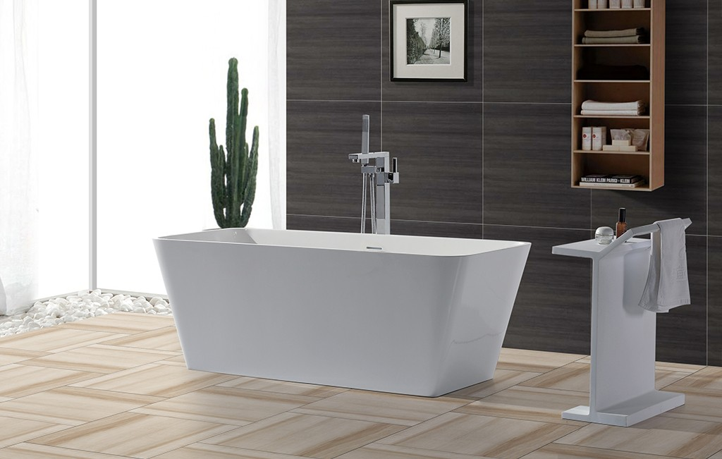 marble solid surface bathtub ODM-1