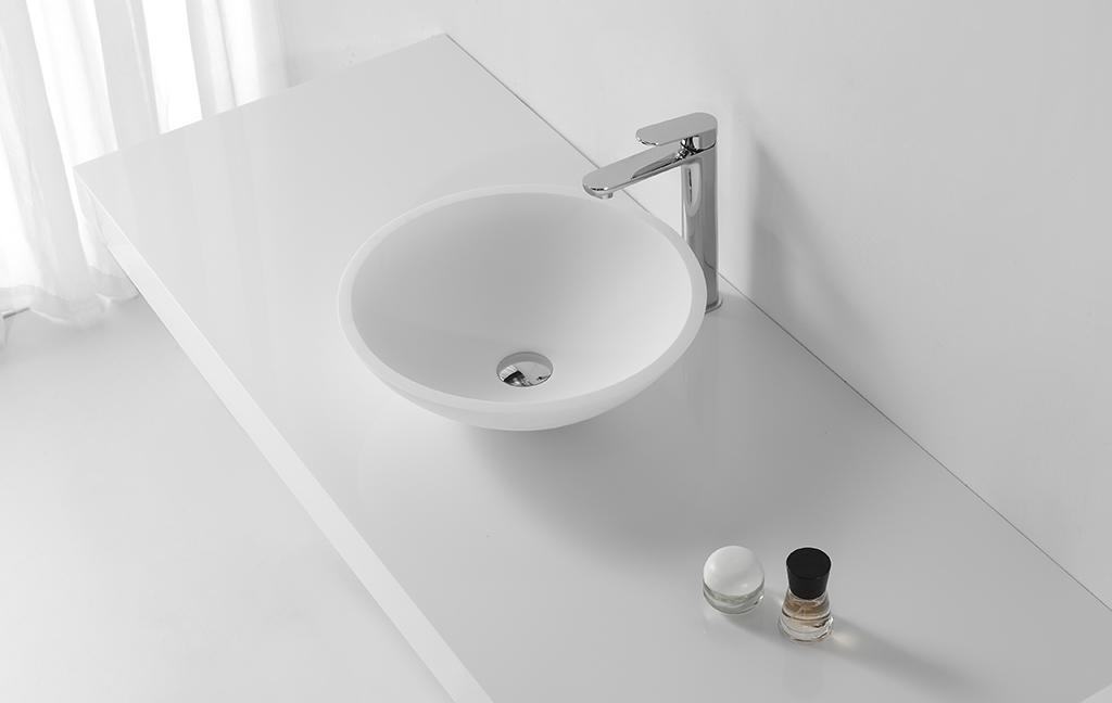 sanitary ware above counter vessel sink manufacturer for hotel
