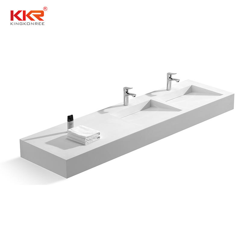 2 Meters Long Design Solid Surface Wall Hung Basin KKR-1334