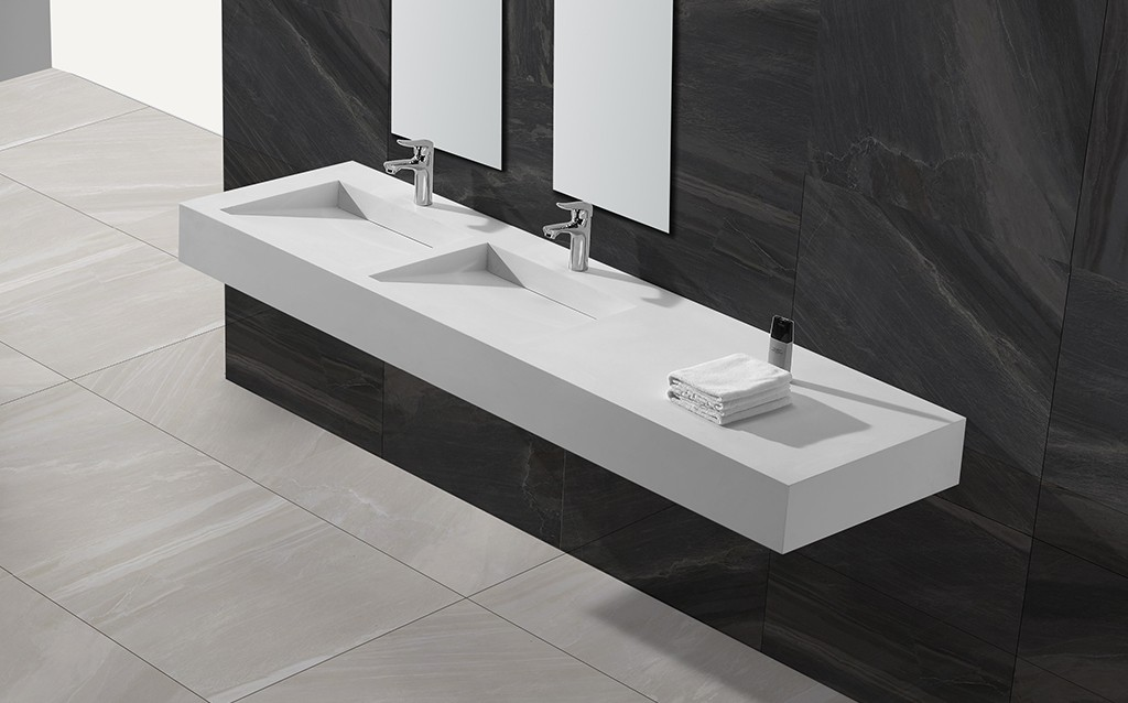 sturdy rectangular wash basin customized for bathroom-1