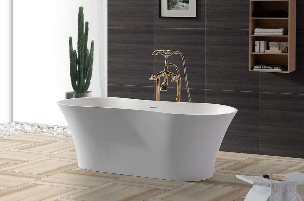 practical acrylic clawfoot bathtub free design for hotel-1