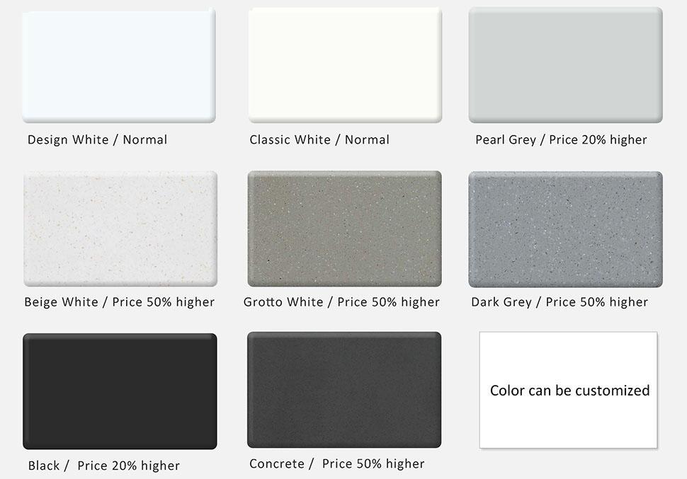 sales Solid Surface Freestanding Bathtub ellipse floor KingKonree Brand
