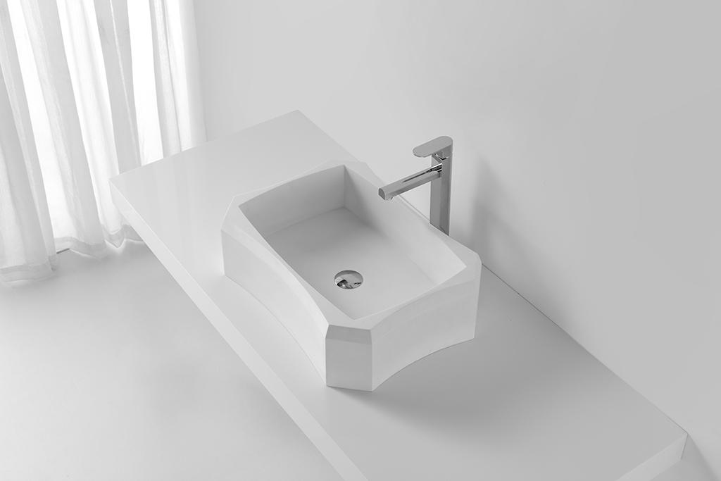 durable above counter vessel sink supplier for restaurant