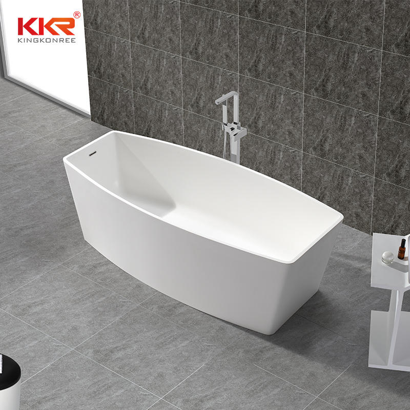 Modern Solid Surface Freestanding Bathtub KKR-B049