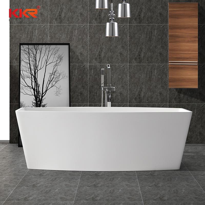 Modern Solid Surface Freestanding Bathtub KKR-B049