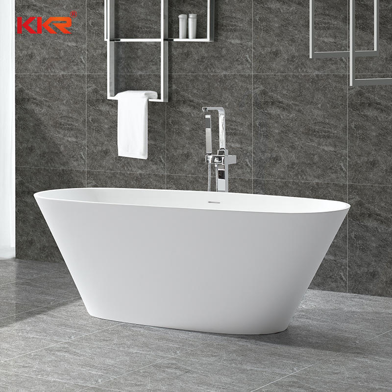 Piedra de resina Acrílico Superficie sólida Baño Tinas de baño independientes KKR-B050