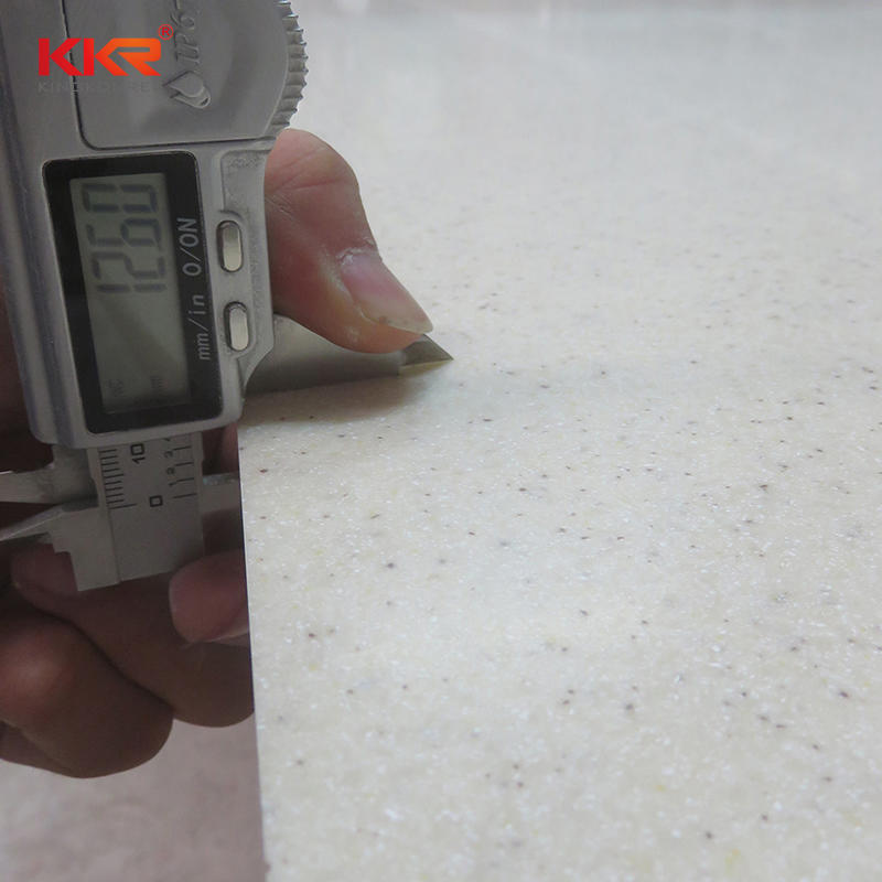 120 Inch Artificial Stone Modified Acrylic Solid Surface Sheets KKR-M1621