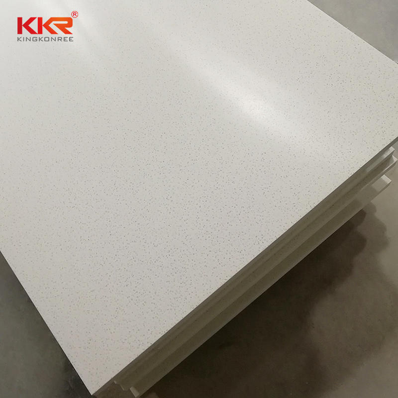 120 Inch Artificial Stone Modified Acrylic Solid Surface Sheets KKR-M1634