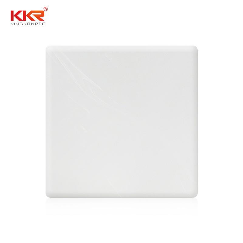 Hojas de superficie sólida de piedra acrílica con patrón de textura KKR-M8606