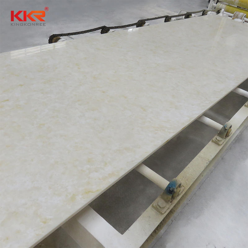 Marble Pattern Acrylic Solid Surface Sheets KKR-M8806