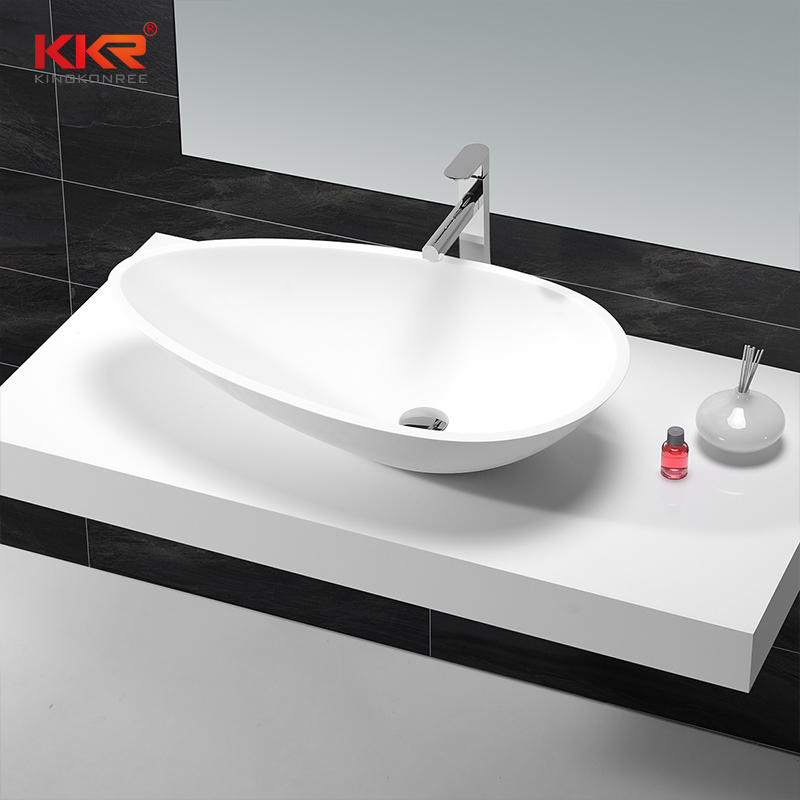Acrylic Solid Surface Countertop Wash Basin KKR-1502