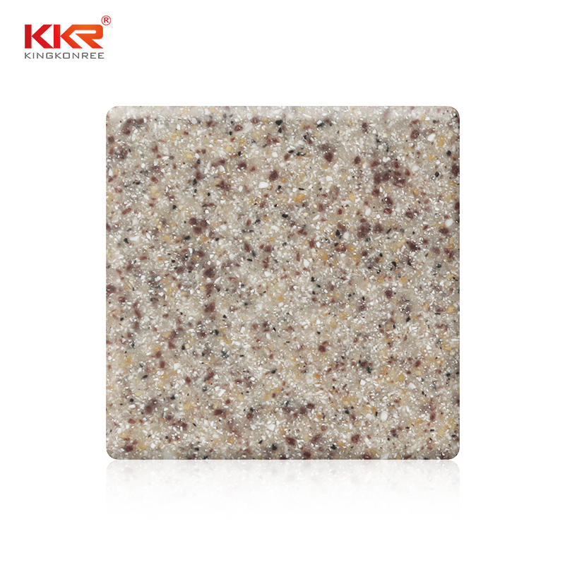 Hot Sale Sand Color Acrylic Stone Solid Surface Sheets KKR-M1620