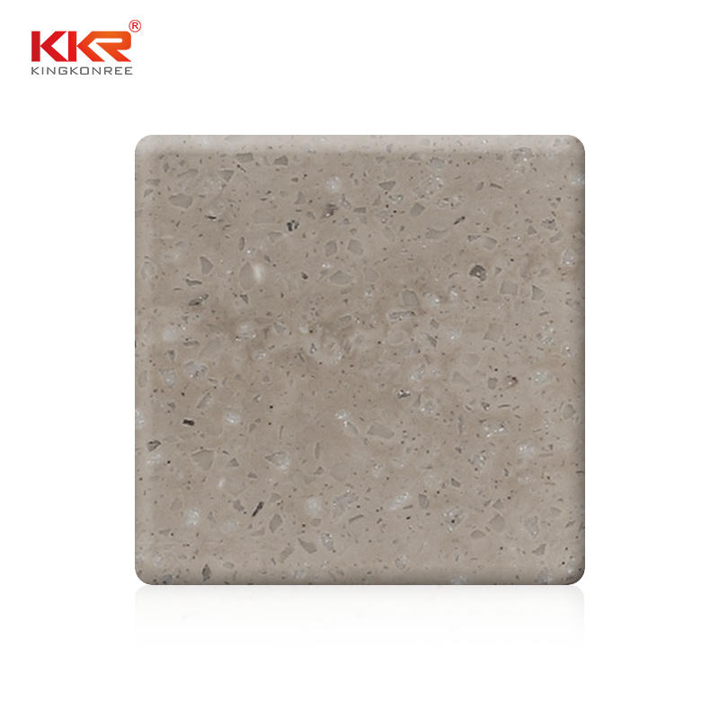 Hojas de patrón de textura de superficie sólida de acrílico 100% puro KKR-M6804
