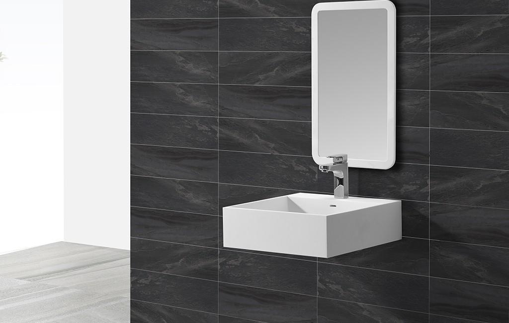 white marble KingKonree Brand wall mounted wash basins