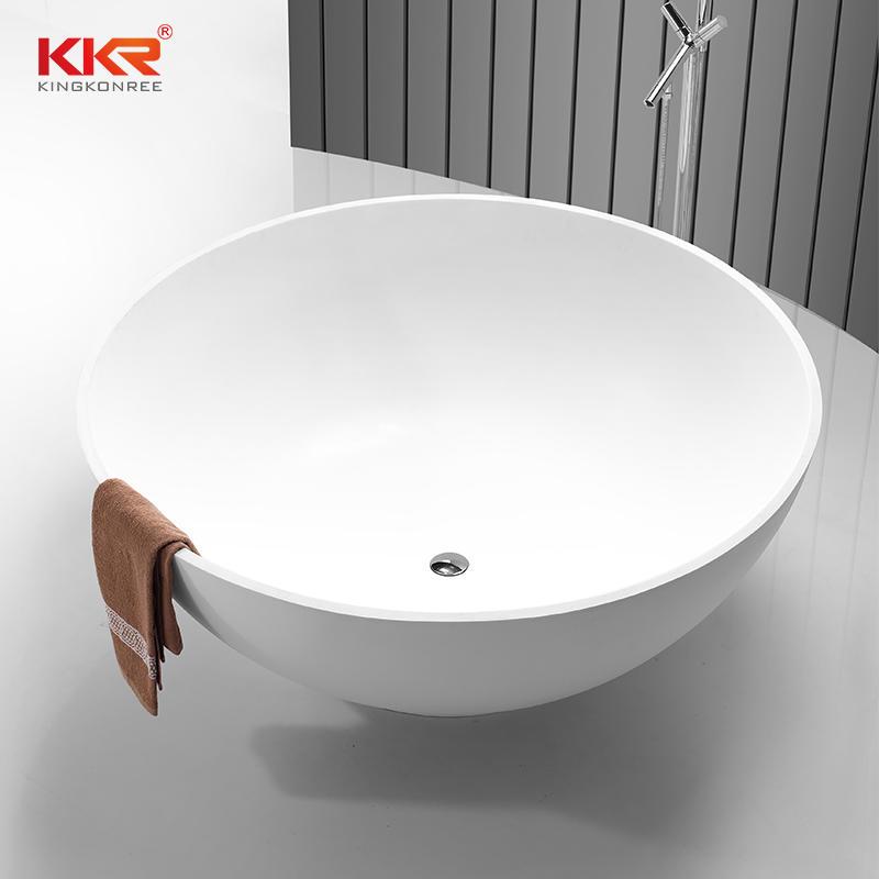 1500mm Diameter Round Solid Surface Bathtub KKR-B056