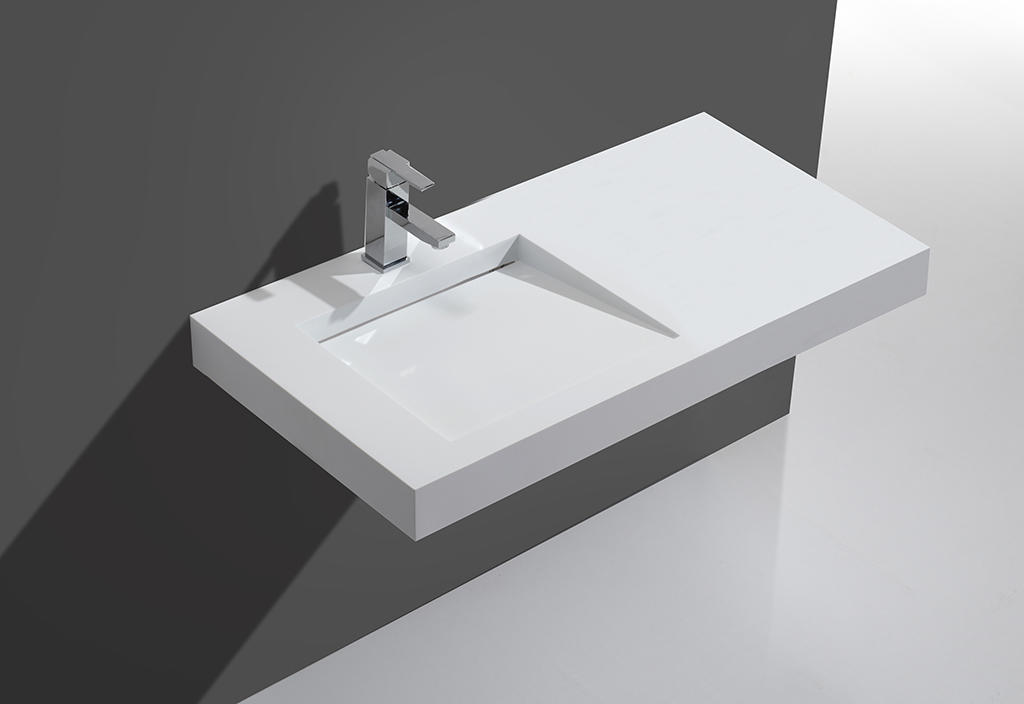 marble stylish wash basin customized for hotel