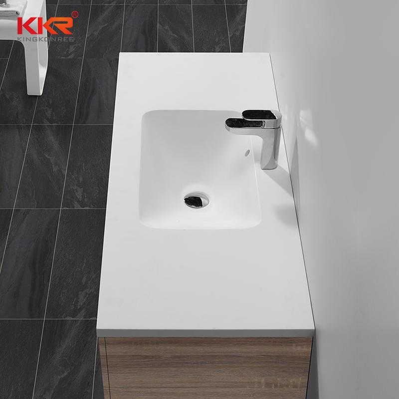 1200mm Elegent Design Aacrylic Solid Surace Cabinet Basin KKR-1525