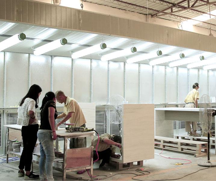 wash basin with cabinet online manufacturer for motel KingKonree-14