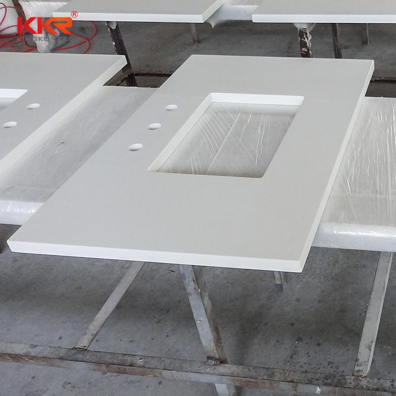 High Quality Acrylic Soild Surface Bathroom Vanity