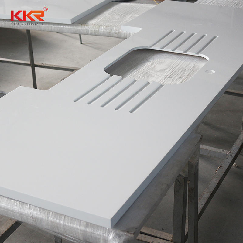 Customized Design Modified Solid Surface Kitchen Countertop