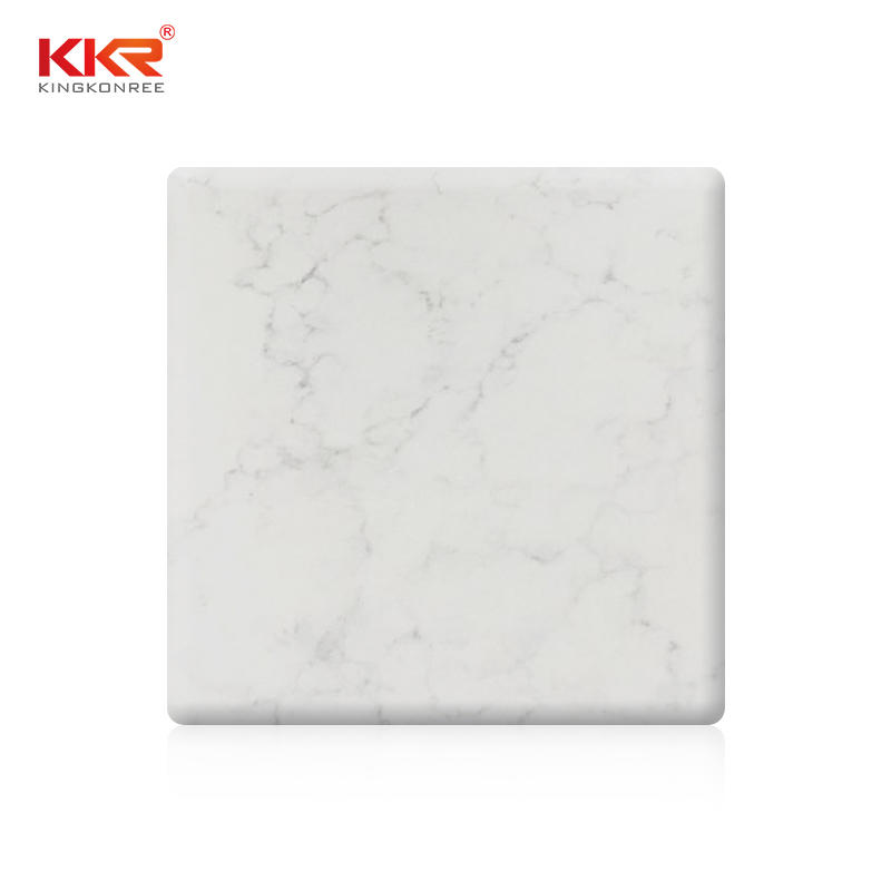 Newly Texture Marble Pattern Pure Acrylic Solid Surface Sheet KKR-M8808