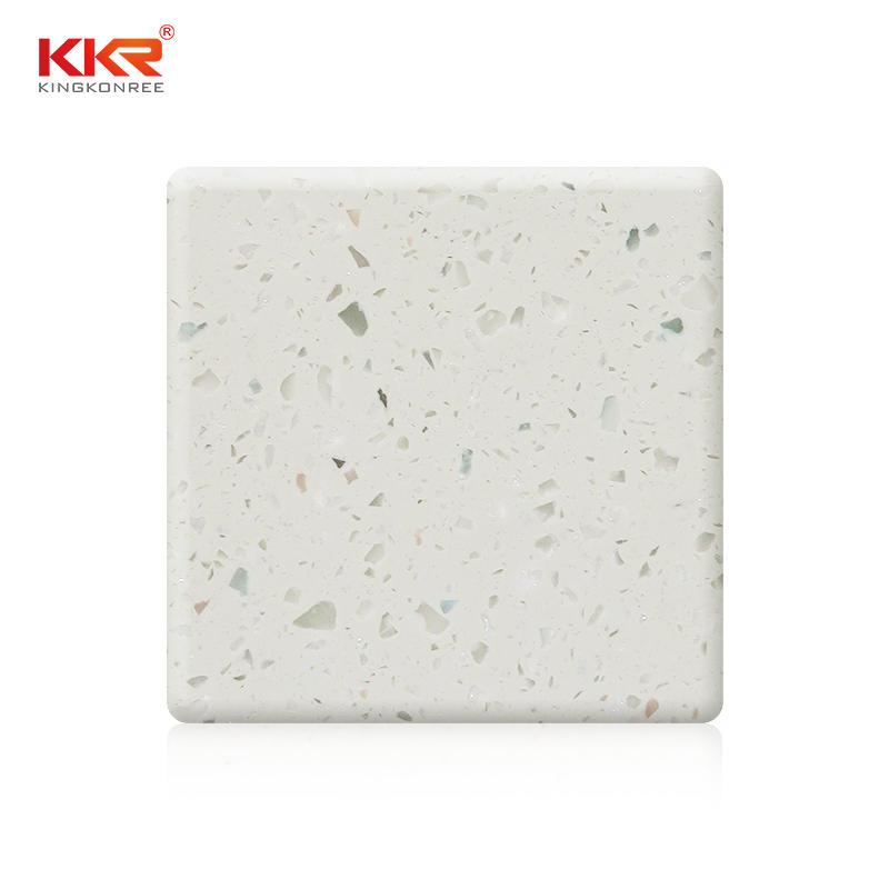 Lámina de superficie Soid modificada de 1220mm con Chips de Color KKR-M1658
