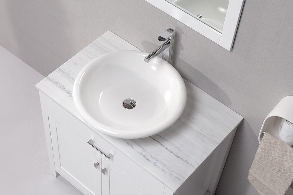 KingKonree elegant above counter vessel sink supplier for hotel-1
