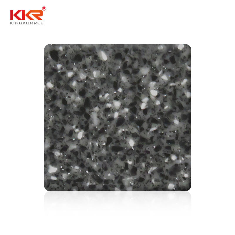 1220mm Width Modified Acrylic Solid Surface With Chips Color KKR-M1806