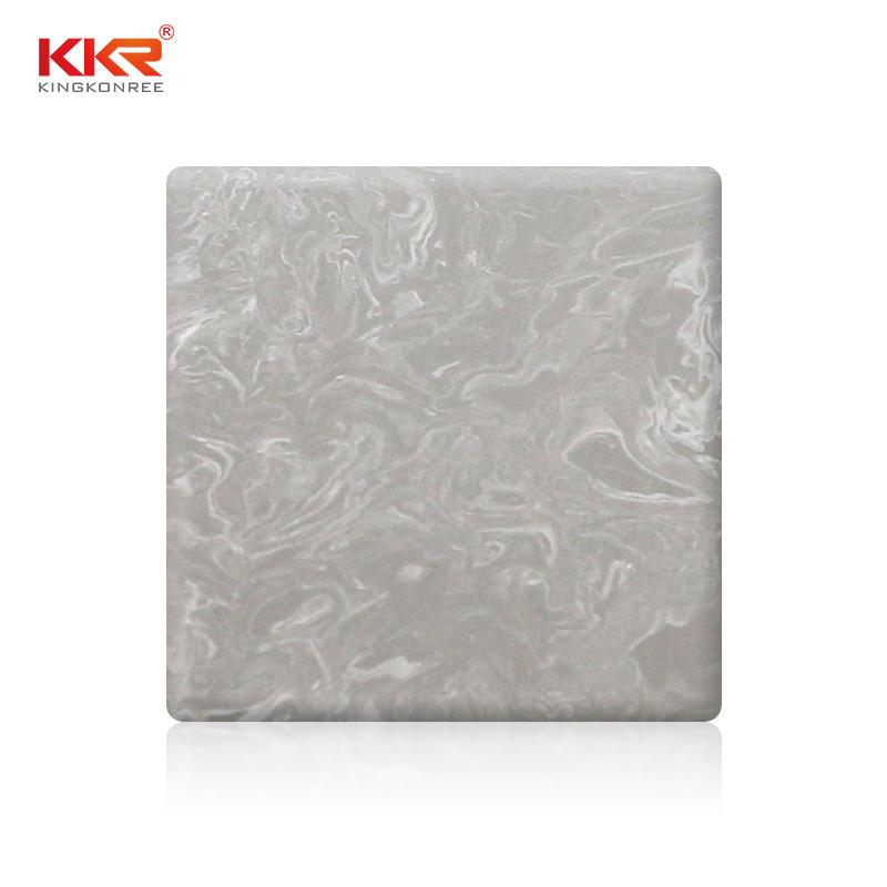 Patrón de textura Acrílico puro Hojas de superficie sólida KKR-M5807