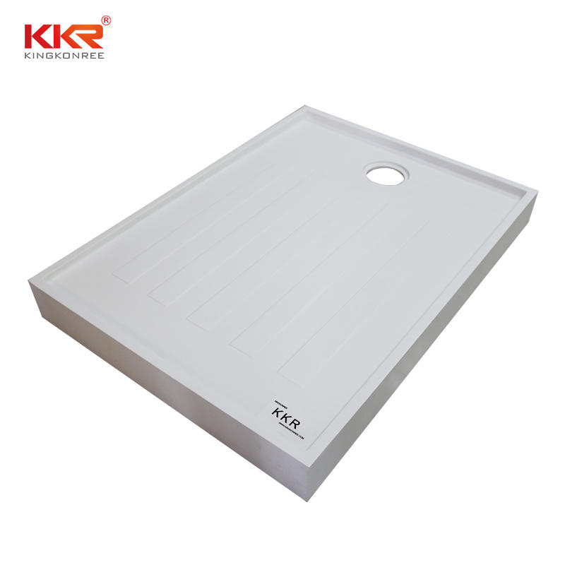 Acrylic Resin Stone Solid Surface Shower Tray KKR-T019
