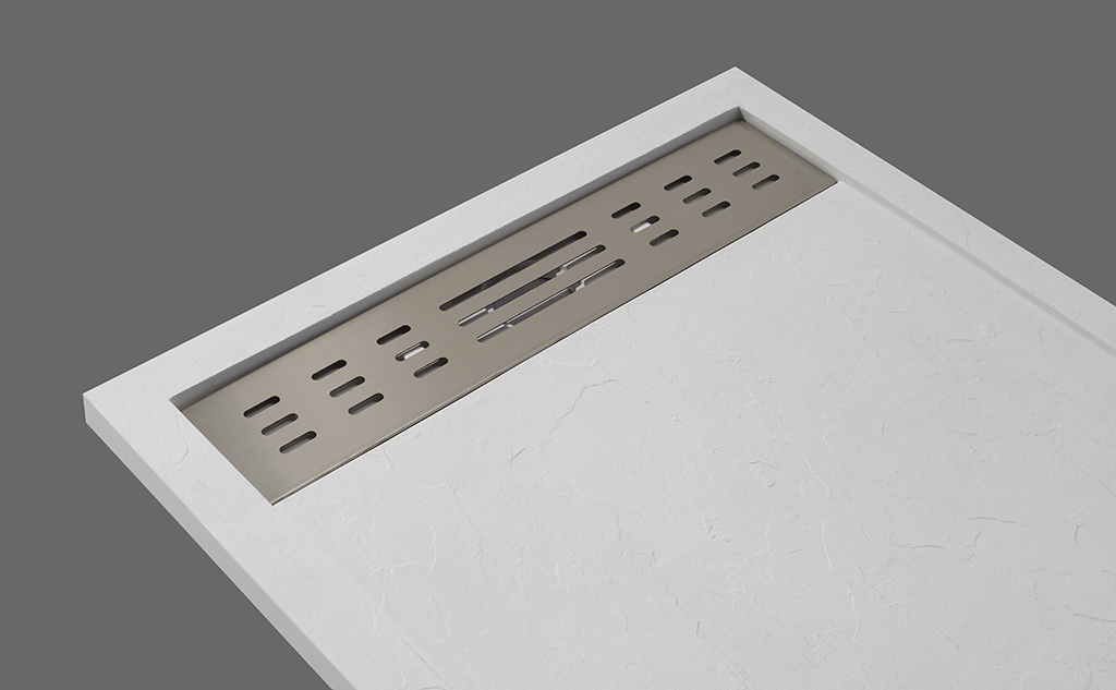 marble narrow shower tray manufacturer for home-2