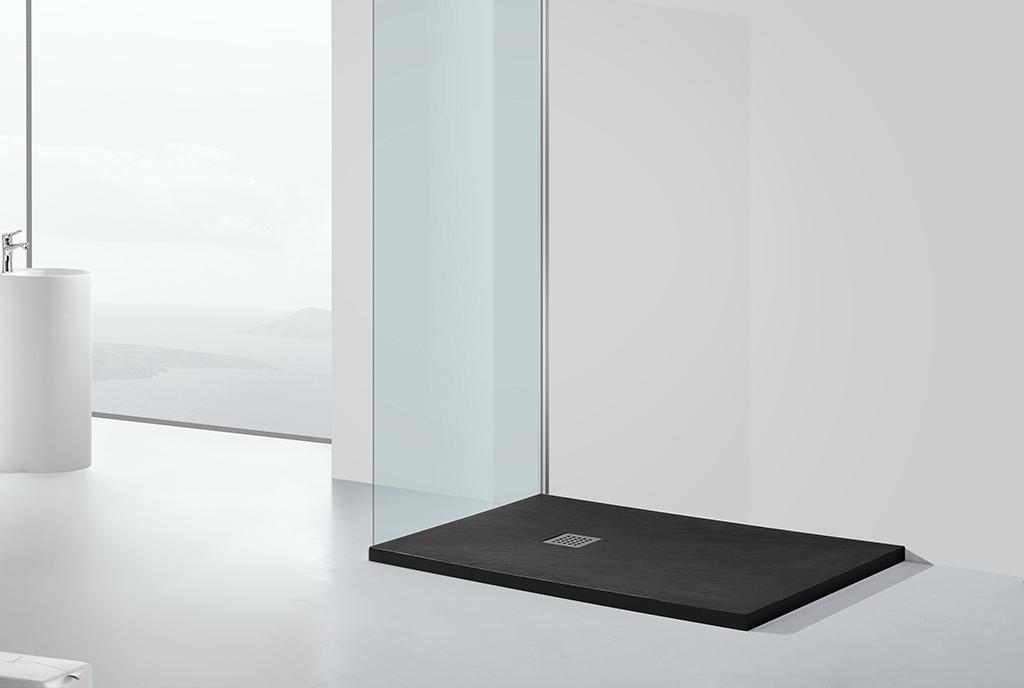 KingKonree quarter circle small shower tray manufacturer for hotel-1