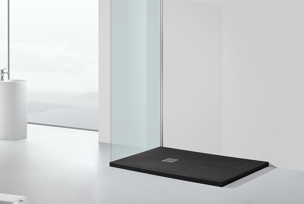 KingKonree acrylic small shower tray customized for home
