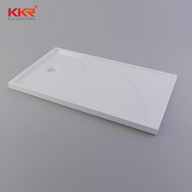 Rectangle Acrylic Solid Surface Shower Tray KKR-T011