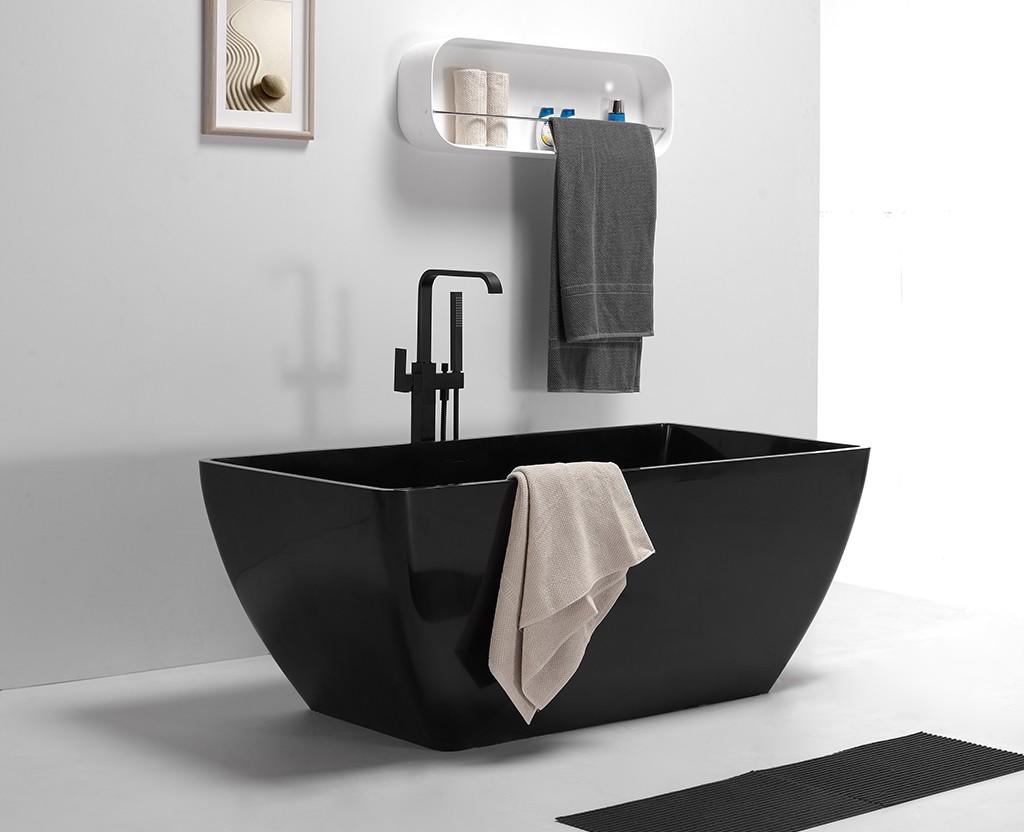 white contemporary bathtubs freestanding ODM KingKonree