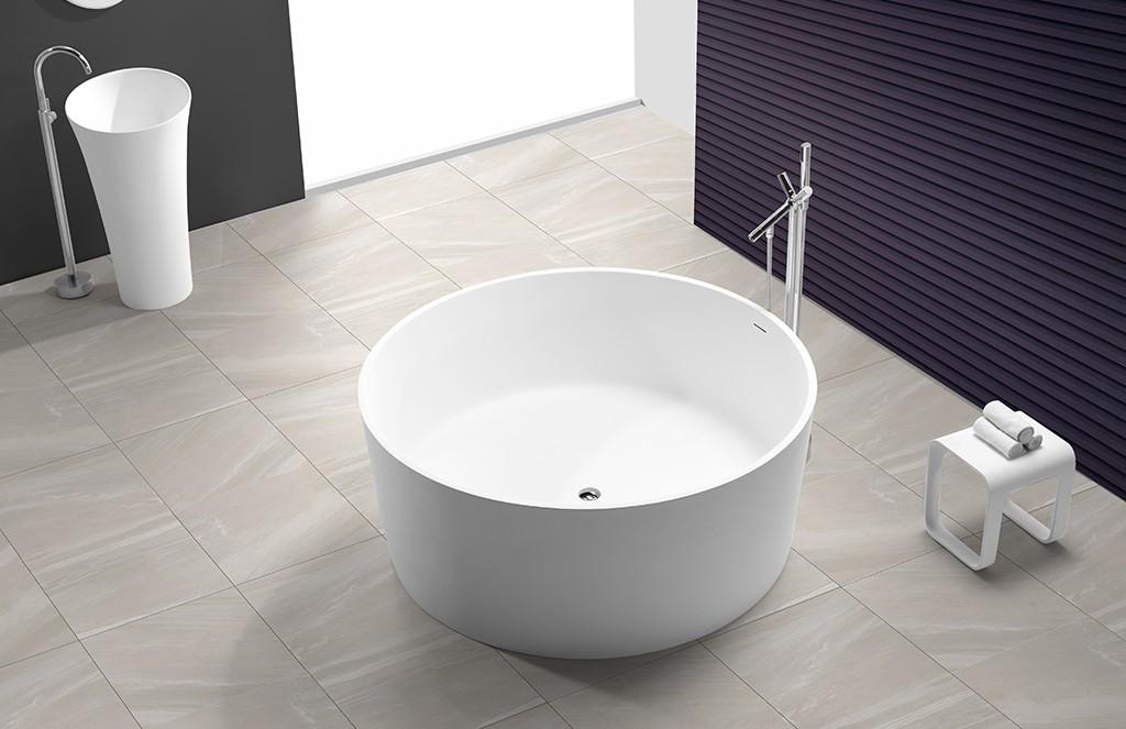 KingKonree hot-sale large freestanding bath ODM for shower room-1