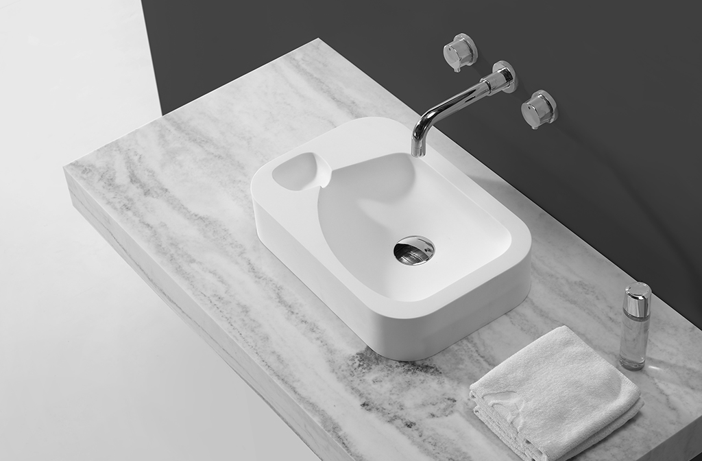 marble bathroom countertops and sinks design for home-1