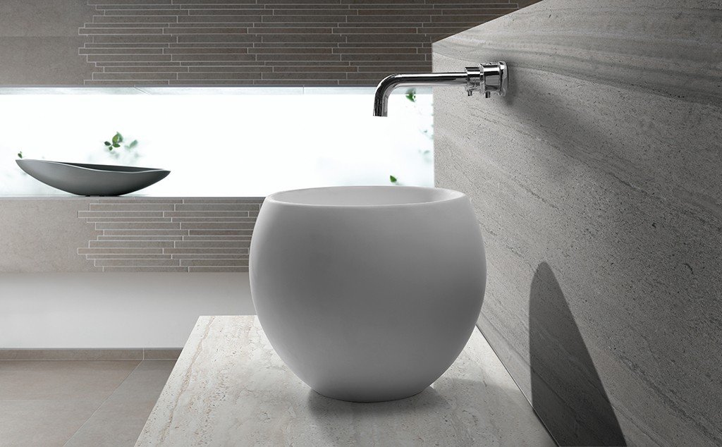 excellent small countertop basin supplier for room-1