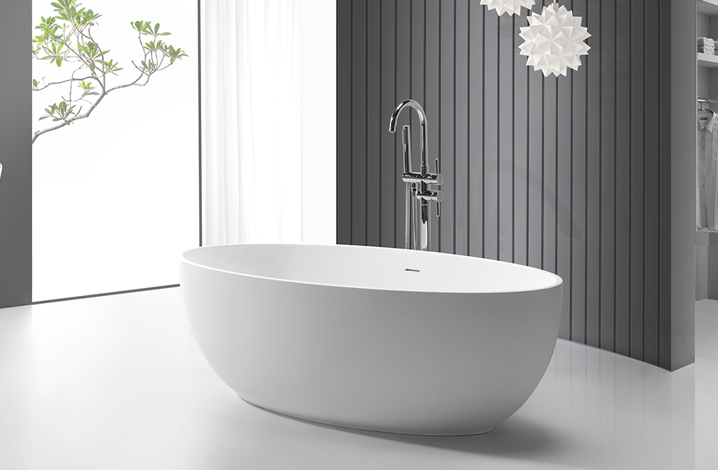 KingKonree small freestanding soaking tub ODM-1