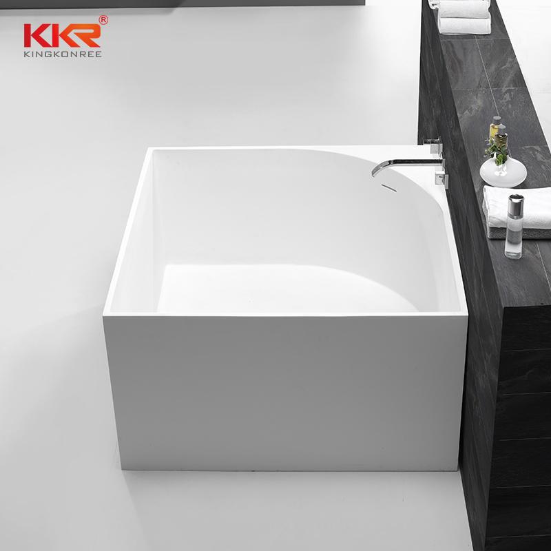 1050mm Squartz Solid Surface Freestanding Bathtub KKR-B067