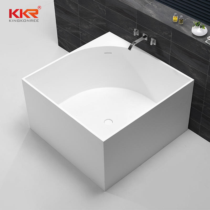 1050mm Squartz Solid Surface Freestanding Bathtub KKR-B067