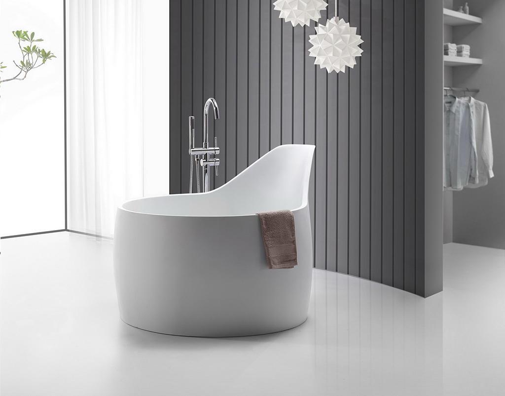 marble stone resin bathtub ODM for shower room